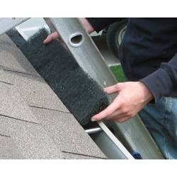 Our technicians can quickly install Rain Flow Gutter Protection to your gutters.