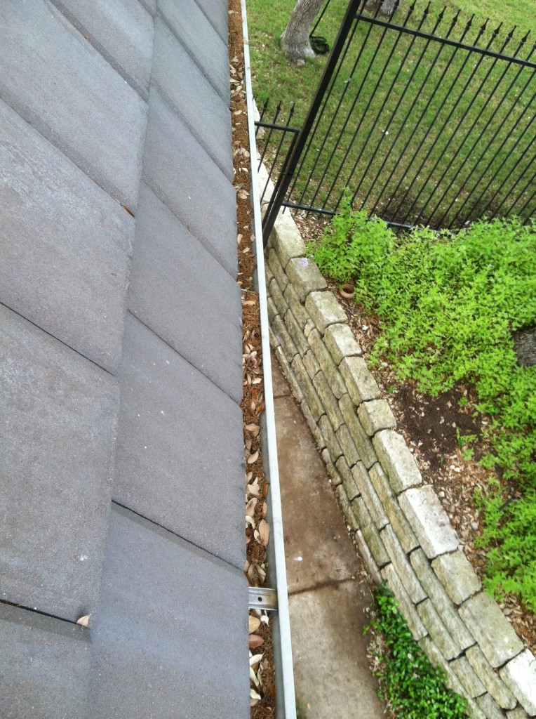 Are your gutters filled with leaves and debris?