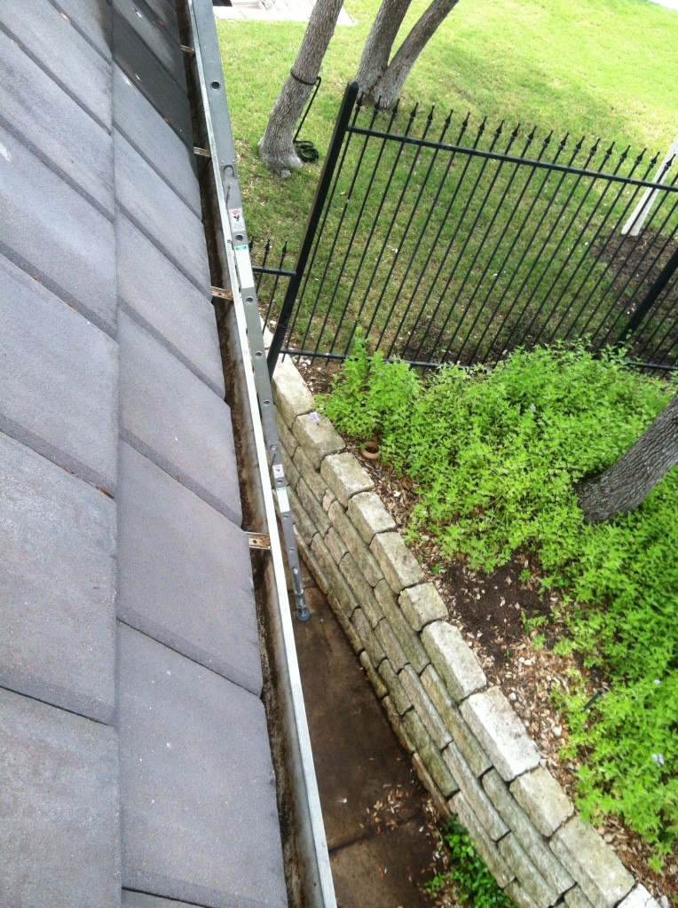 We can clean out your gutters and downspouts to allow rainwater to drain properly and prevent damage to your eaves.