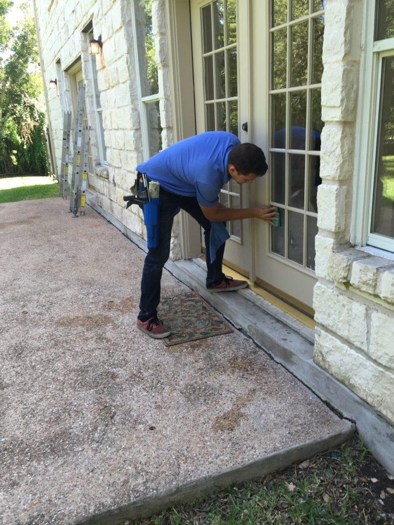 new-technician-michael-hard-at-work