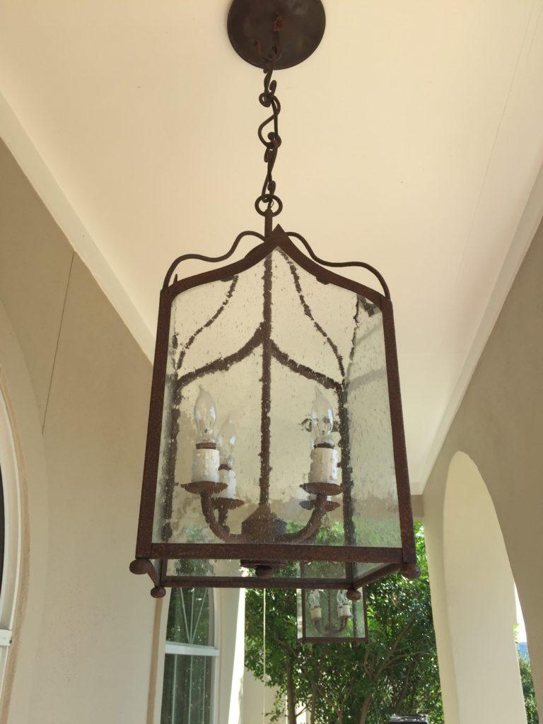 Clean Light Fixture