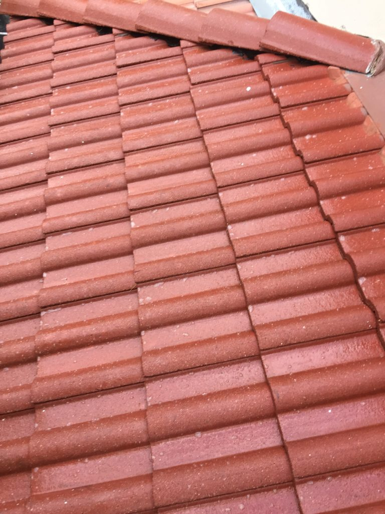 Beautifully Restored Roof Tiles