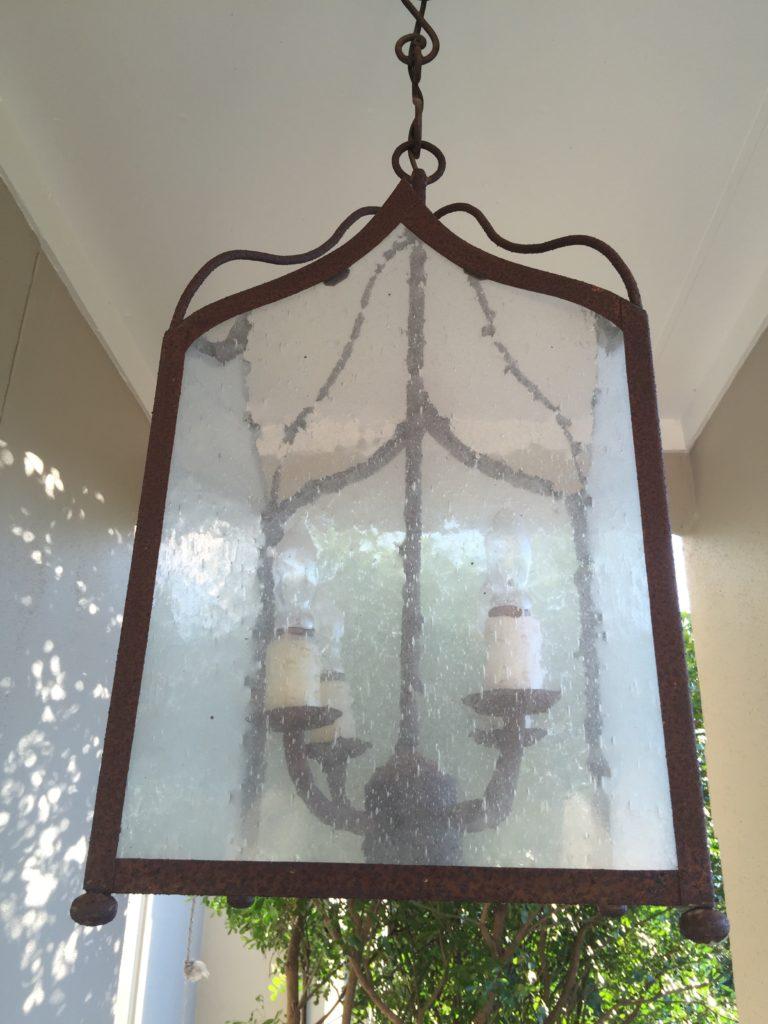 Foggy light fixture