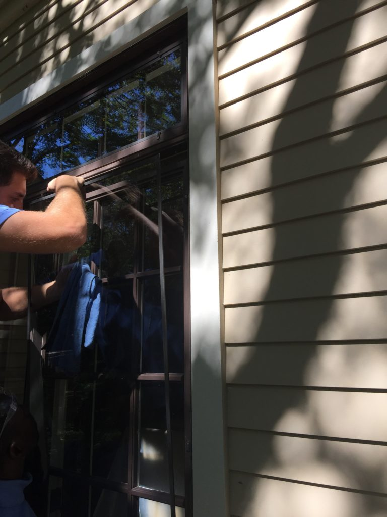 Storm windows make a house more energy efficient, but most people hate to clean them!  Give us a call to get it done right.  512-926-7000