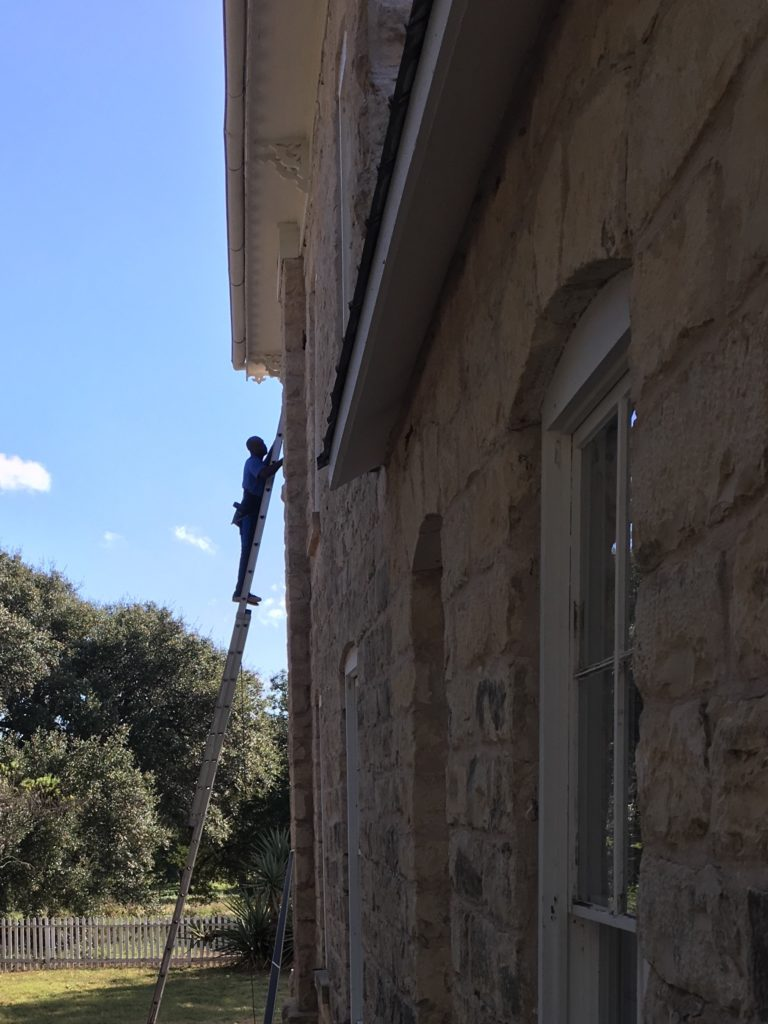 We put a nice shine on these old windows out near Marble Falls and Johnson City!